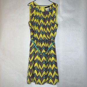 B. Darlin yellow belted dress
